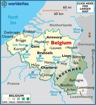 where is belgium on the map map of belgium european maps europe maps belgium map