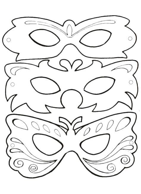 Maschere Di Carnevale Bimbi Di Carta No Mask Template