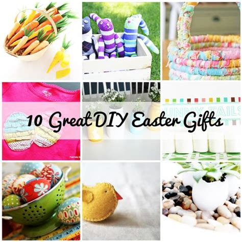 diy easter basket ideas handmade easter gifts gift ideas pinterest