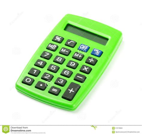 calculator x8 download green calculator stock photo image 57573663