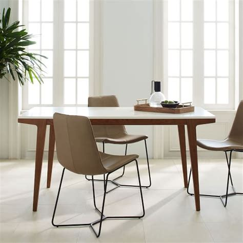 expandable dining room table modern expandable dining table west elm