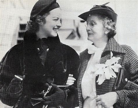 bette davis mother bette davis and mother ruth bette davis pinterest