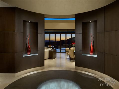 Design For Foyer Decorating Ideas Concept Contemporary Desert Home Interior Design By Henry