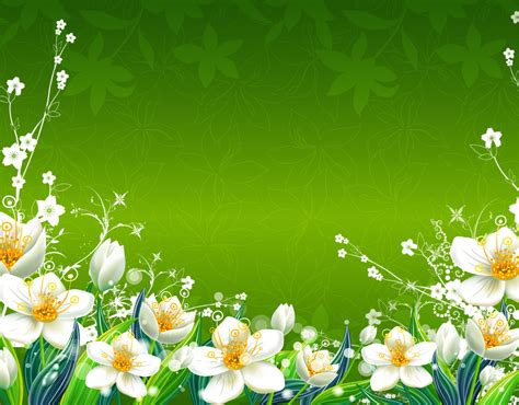Floral In Green green flowers wallpaper 1600x1250 green flowers