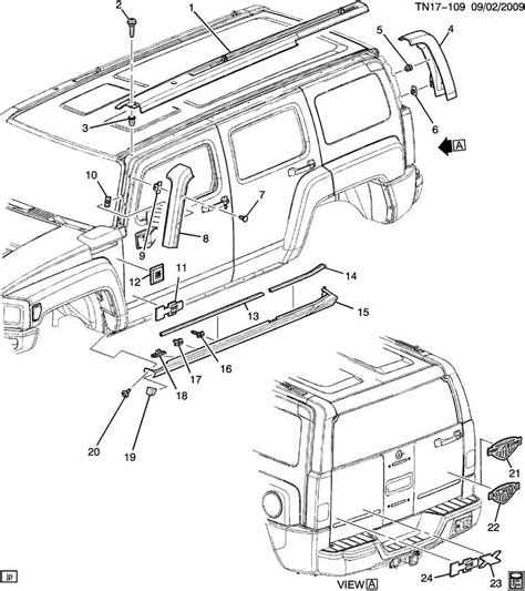 2006 hummer h3 parts diagrams hummer h3 engine parts diagram diagrams auto parts