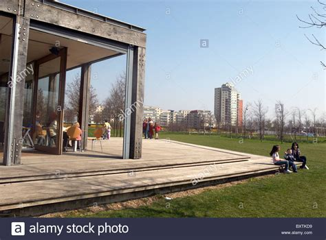 thames barrier park playground caf 233 thames barrier park west silvertown east london uk