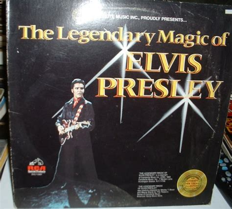 The Legendary Magic Of Elvis elvis vinyl record albums