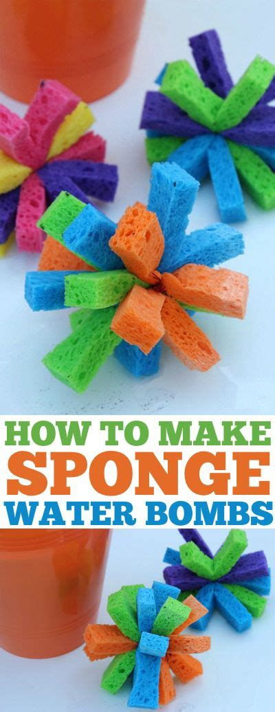 7 Alternatives To Water At The by Diy Sponge Water Bombs Simple And Alternative