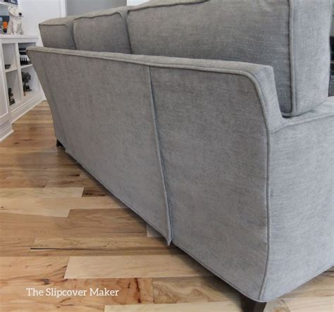 sofa slipcover in pottery barn performance tweed susie s