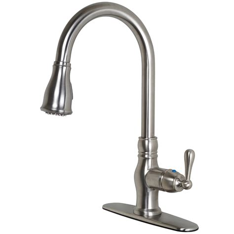 vantage collection single handle kitchen faucet with prime collection single handle kitchen faucet with pull