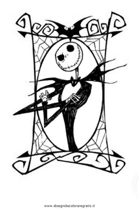 nightmare before christmas jack coloring pages nightmare before christmas coloring pages cartoni