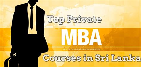 Entry Requirements For Mba In Sri Lanka by Top 8 Mba Courses In Sri Lanka Sri Lanka Course