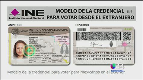 telefono del consulado mexicano de houston para hacer credencial para votar para mexicanos univision