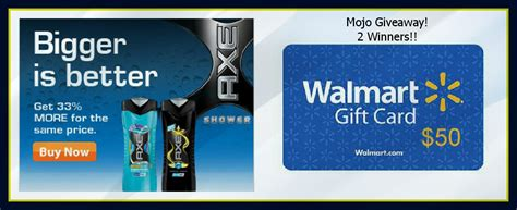 Walmart 50 Dollar Gift Card - mojo giveaway win a 50 walmart gift card 2 winners mojosavings com