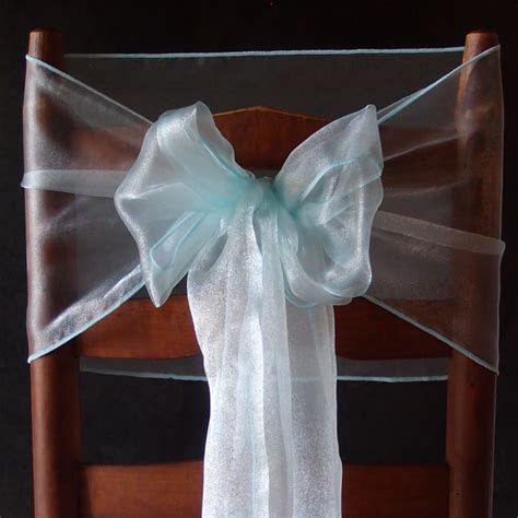organza table runner cool mint