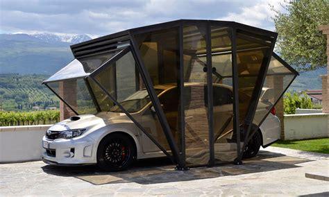 gazebo copriauto gazebox garage cool material