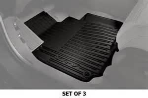 2017 honda cr v all season floor mats highwall black