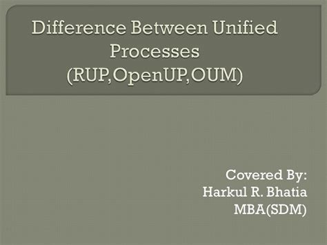 Difference Between Mba And Mba Honours by Difference Unified Processes