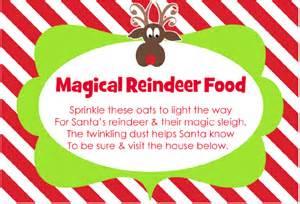 Free reindeer food bar printables search results calendar 2015