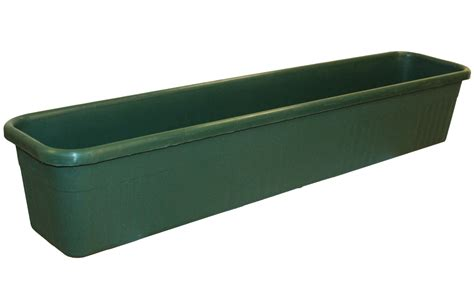 Plastic Trough Planter by 78cm Plastic Ornamental Trough Planter In Forest Green 163 7 99