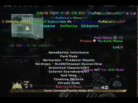 how to install cod patches mod menus using multiman tutorial call of duty mw2 new mod menu patch modded lobby