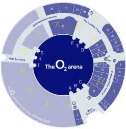 The O2 Floor Plan The O2 Seating Plan View The Seating Chart For The The O2