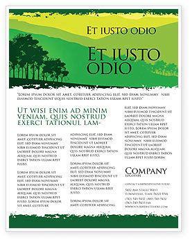 landscape flyer templates mountain landscape flyer template background in microsoft
