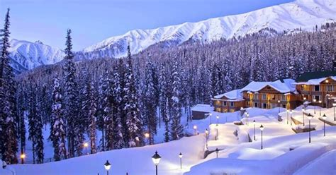 places  witness snowfall  india
