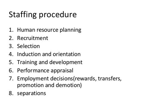 induction and orientation objectives engineering management staffing