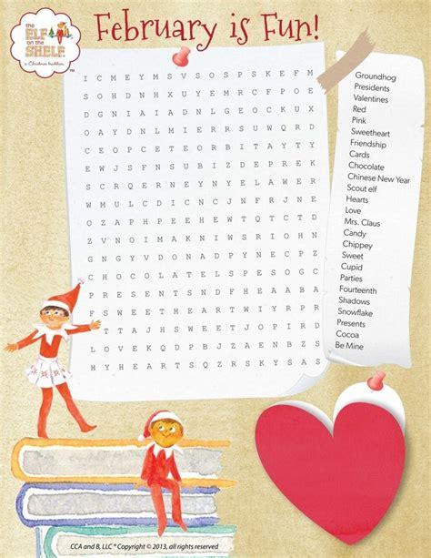 elf on the shelf printable word search elf on the shelf printable coloring page etc elf on the