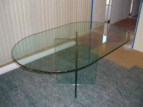 etched glass dining table chipped edge glass dining tables sans soucie