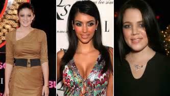 imagenes video kim kourtney kardashian disfrutando de las mira la impactante transformaci 243 n de las hermanas