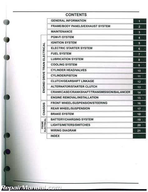 Honda Service Manual by Crf250l Honda Motorcycle Service Manual 2013 2016