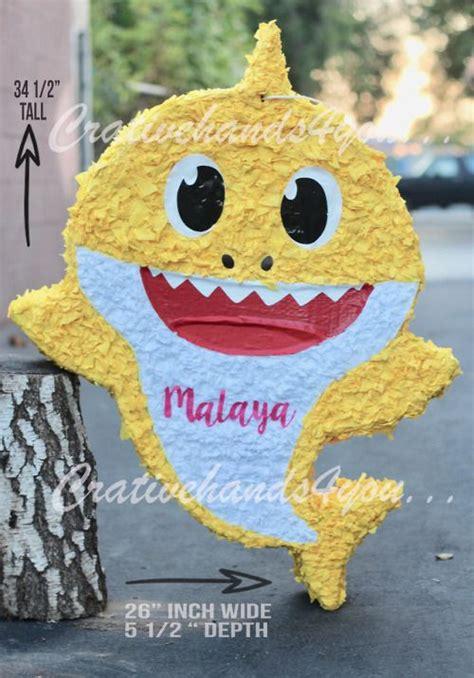 Baby Shark Pinata Do Doo Do Do Da Doo Pinata In