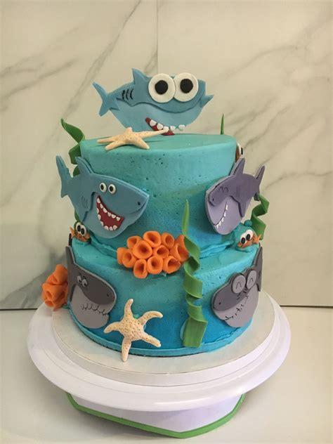 baby shark cakecentralcom