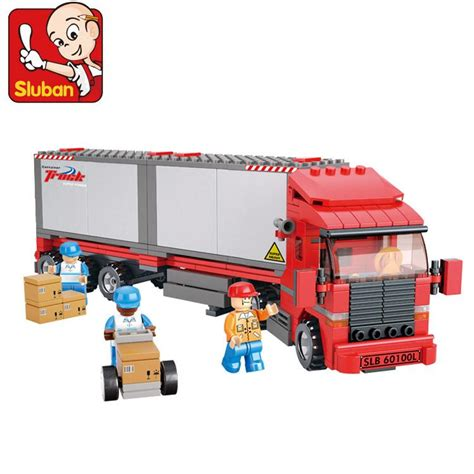 2016 New Free Shipping Sluban - sluban freight truck lego end 5 1 2018 12 00 am