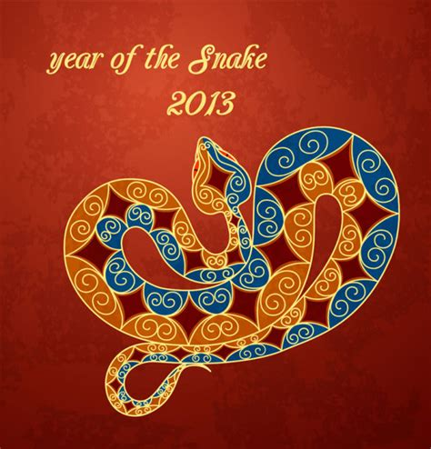 new year 2015 for year of the snake year of the snake 2013 free vector graphic