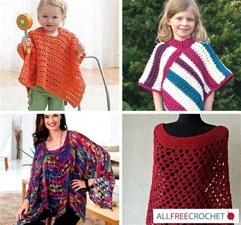 Ponco 2 In 1 Big Top Primadona Scothlght 62 crochet poncho patterns allfreecrochet