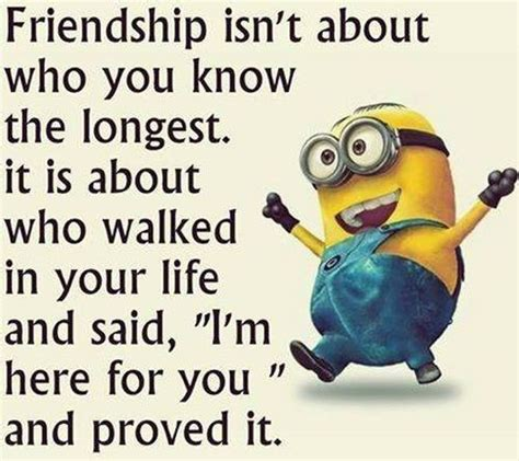 Friendship Meme - top 30 famous minion friendship quotes quotes and humor