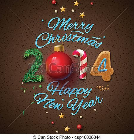 new year card images 2014 eps vector of happy new year 2014 greeting card vector