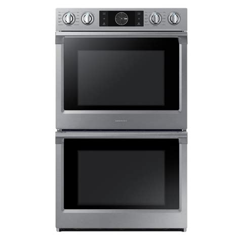 Oven Samsung samsung flex duo 30 in electric wall oven self cleaning with true convection with steam