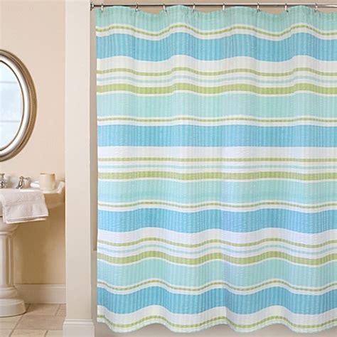 cabana stripe shower curtain park b smith 174 cabana stripe 72 inch x 72 inch shower