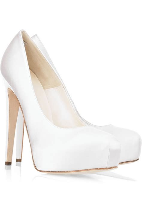 ivory wedding shoes in heels cherry