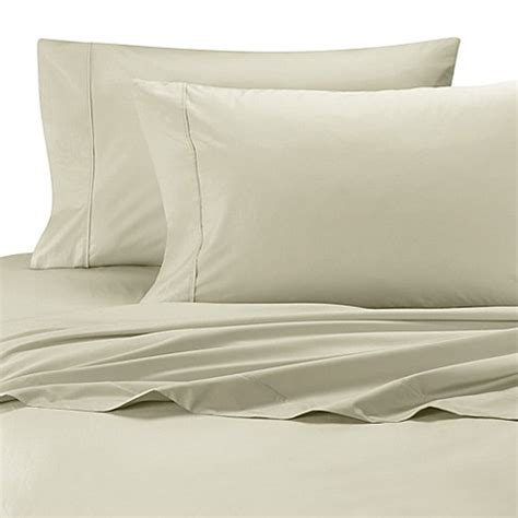 bed bath and beyond olympic wamsutta 174 cool touch percale cotton olympic queen fitted sheet bed bath beyond