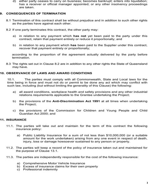 Download Service Contract Template For Free Page 3 Formtemplate Av Service Contract Template