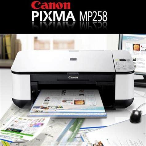 reset canon mp 258 ekohasan mengatasi error pada printer canon mp 258 dengan software