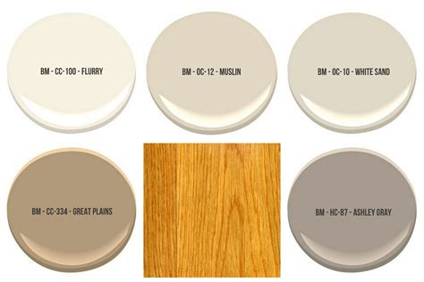 the best wall paint colors to go with honey oak green