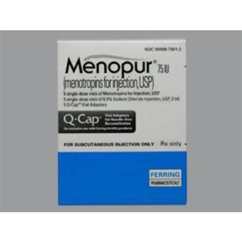 Menopur Also Search For Menotropins Gonadotropins Human Menopausal