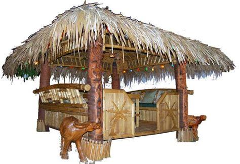 Luau Tiki Bar Hut Tropical Garden Furniture Bamboo Tiki Huts Bars