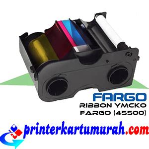 Printer Kartu Id Card Fargo Dtc 1250 E ribbon ymcko fargo dtc1250e printer kartu printer id
